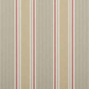 Clarke and Clarke Maritime Prints Sail Stripe Sand Curtain Fabric