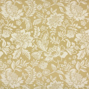 Kasra Sara Gold Curtain Fabric