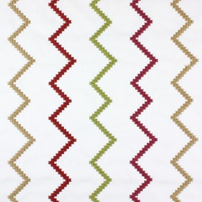 Kasra Sassan Garnet Curtain Fabric