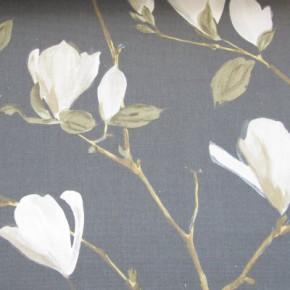 Prestigious Textiles Imperial Sayuri Pewter Curtain Fabric