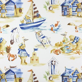 Prestigious Textiles Be Happy Seaside Denim Made to Measure Curtains