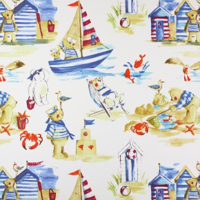 Prestigious Textiles Be Happy Seaside Marine Made to Measure Curtains