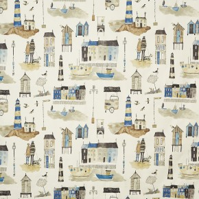 A Prestigious Textiles Beachcomber Seaside  Ocean Made to Measure Curtains