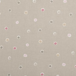 Clarke and Clarke Maritime Prints Seaside Spot Taupe Curtain Fabric
