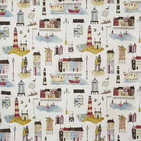 A Prestigious Textiles Beachcomber Seaside  Vintage Made to Measure Curtains