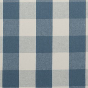 Clarke and Clarke Country Linens Sherbourne Chambray Curtain Fabric
