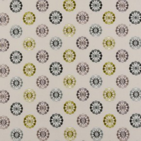 Clarke and Clarke Bukhara Shiraz Citrus Curtain Fabric