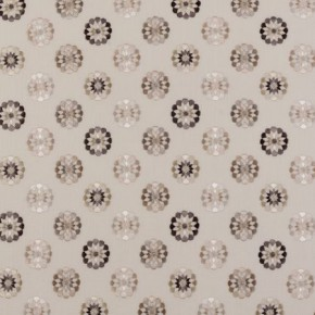 Clarke and Clarke Bukhara Shiraz Natural Curtain Fabric