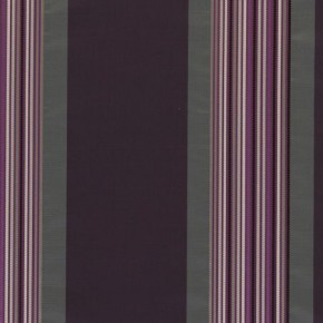 Clarke and Clarke Boutique Skyline Damson Curtain Fabric