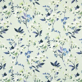 Italian Gardens Sophia Cobalt Made to Measure Curtains