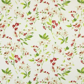 Italian Gardens Sophia Pomegranate Curtain Fabric