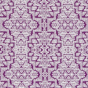 Clarke and Clarke South Beach Spirit Purple Roman Blind