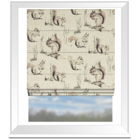 Clarke_countryside_squirrels_linen