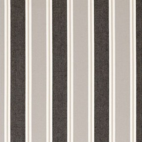 Clarke and Clarke New England Stamford Charcoal Curtain Fabric