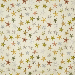 A Prestigious Textiles Beachcomber Starfish Sand Made to Measure Curtains