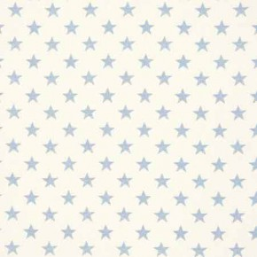 Clarke and Clarke Fougeres Stars Chambray Roman Blind