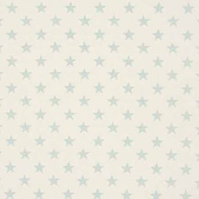 Clarke and Clarke Fougeres Stars Duckegg Curtain Fabric