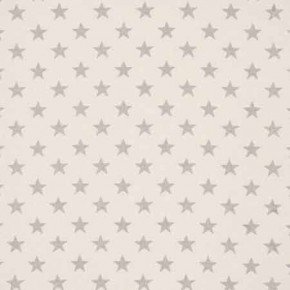 Clarke and Clarke Fougeres Stars Natural Curtain Fabric