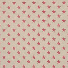 Clarke and Clarke Fougeres Stars Pink Made to Measure Curtains