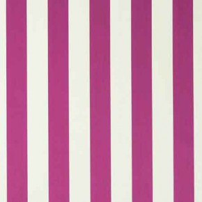 Clarke and Clarke Chateau St James Stripe Fuchsia Curtain Fabric