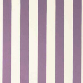 Clarke and Clarke Chateau St James Stripe Violet Curtain Fabric