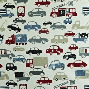 Prestigious Textiles Playtime Stop Graphite Curtain Fabric