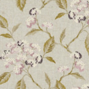 Avebury Summerby Damson Curtain Fabric