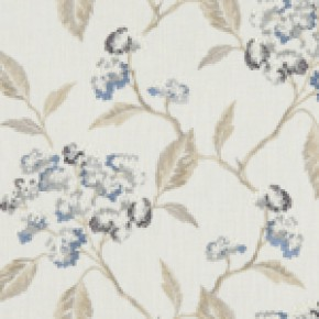 Avebury Summerby Denim Curtain Fabric