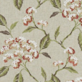 Avebury Summerby Spice Curtain Fabric