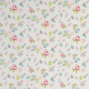 Clarke and Clarke Garden Party SummerFruits Mineral Curtain Fabric