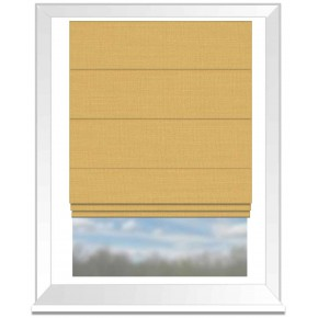 Clarke and Clarke Nantucket Sunflower Roman Blind