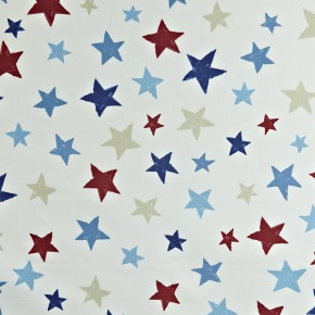 Prestigious Textiles Playtime Superstar Marine Curtain Fabric