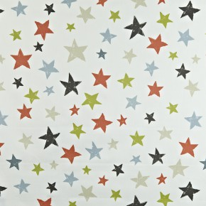 Prestigious Textiles Playtime Superstar Orange Curtain Fabric