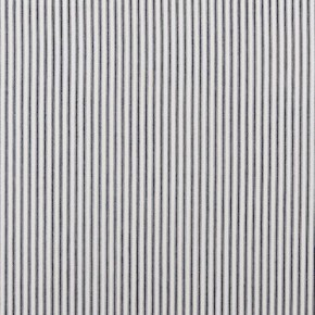 Clarke and Clarke Ticking Stripes Sutton Charcoal Made to Measure Curtains