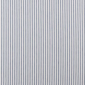Clarke and Clarke Ticking Stripes Sutton Navy Roman Blind