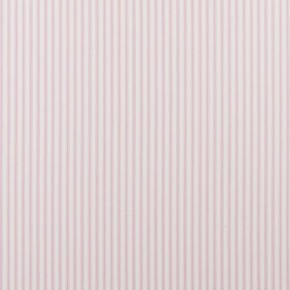 Clarke and Clarke Ticking Stripes Sutton Pink Roman Blind
