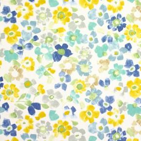 Prestigious Textiles Pickle Sweet Pea Azure Curtain Fabric