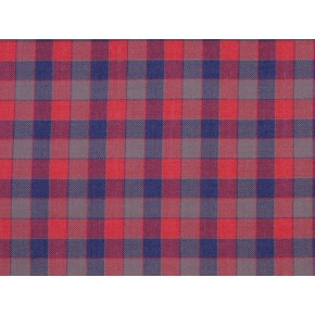 Springfield Track Navy-Red Curtain Fabric