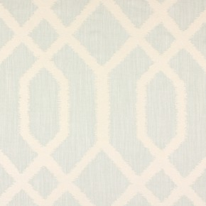 Prestigious Textiles Canvas Trellis Peppermint Curtain Fabric