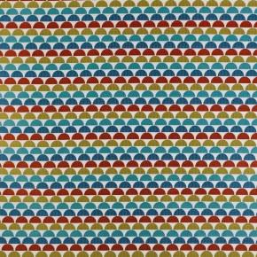 Prestigious Textiles Annika Ulrika Papaya Curtain Fabric
