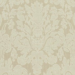 Clarke and Clarke  Colony Valentina Natural Curtain Fabric