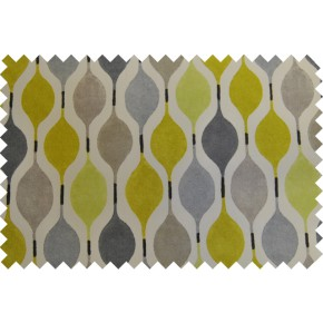 Zest Verve Mimosa Curtain Fabric