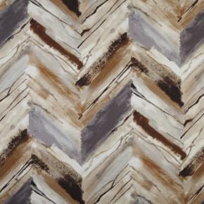 Prestigious Textiles Iona Vito Umber Curtain Fabric