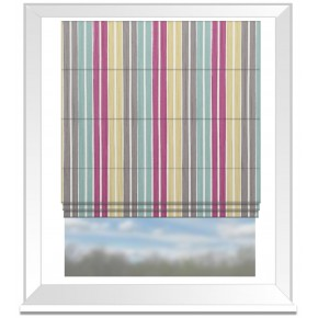 Clarke and Clarke Folia Albi Summer Roman Blind