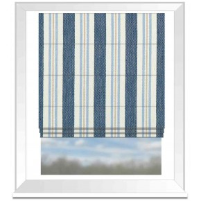 Avebury Alderton Denim Roman Blind