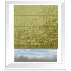 Clarke and Clarke Allure Moss Roman Blind