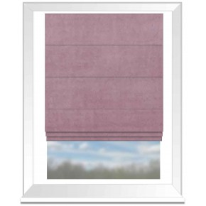 Clarke and Clarke Alvar blush Roman Blind