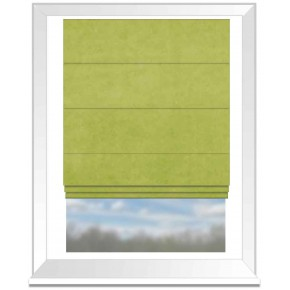 Clarke and Clarke Alvar Citron Roman Blind