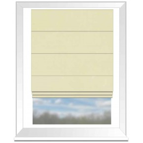 Clarke and Clarke Alvar Cream Roman Blind
