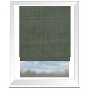 Clarke and Clarke Alvar Herb Roman Blind